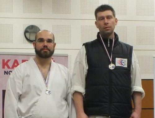 Stéphane – Champion département kumite +84kg