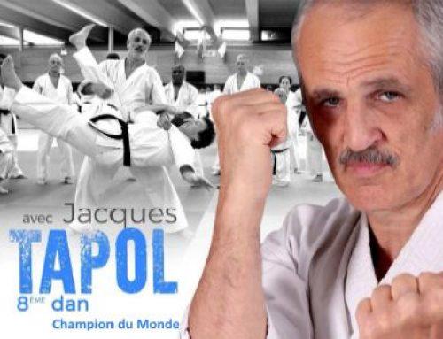 Stage avec Jacques TAPOL 8e dan – Champion du Monde