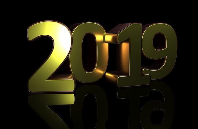 Bienvenue à bord de l'année 2019 !