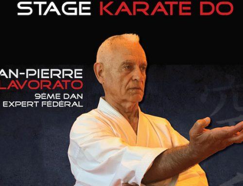 Stages avec Jean-Pierre LAVORATO – 9e dan, les 28 février / 1er mars / 2 mars 2019