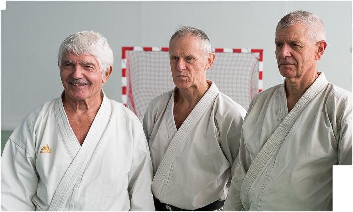 Christian CLAUSE, Jean-Louis MOREL et Hervé DELAGE