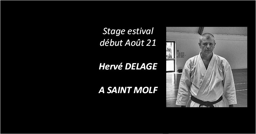Hervé DELAGE – Stage Estival à SAINT MOLF début août